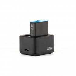Зарядное устройство GoPro Dual Battery Charger с батареей для GoPro HERO10 и HERO9 Black