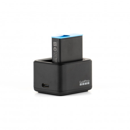 Зарядное устройство GoPro Dual Battery Charger с батареей для GoPro HERO9 Black, главный вид