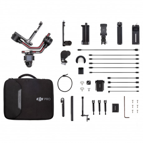 Стабилизатор для зеркальных и беззеркальных камер DJI Ronin RS2 в наборе Pro Combo Kit, главный вид