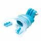 Крепление для GoPro в зубы (голубой)