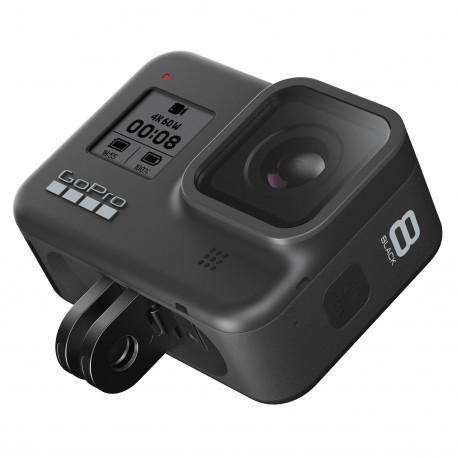 Экшн-камера GoPro HERO8 Black, с трехлучевым крепежом