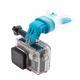 Крепление для GoPro в зубы (прикреплена GoPro HERO4)