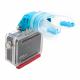 Крепление для GoPro в зубы (надета GoPro)