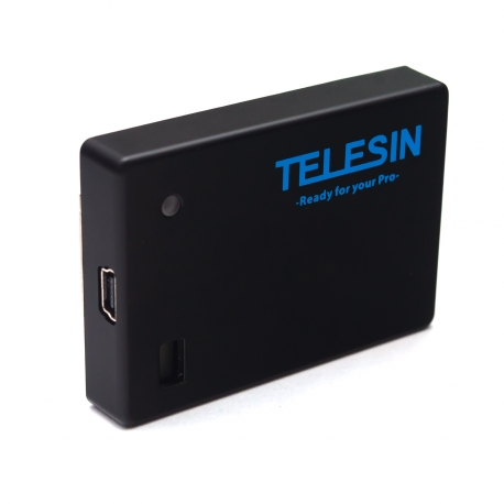 Аккумулятор Telesin Battery BacPac для GoPro HERO4  (GP-BPB-234) (usb порт)