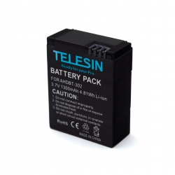 Telesin battery pack for GoPro HERO3 and HERO3+