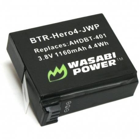 Аккумулятор Wasabi Power для GoPro HERO4 (вид сверху)