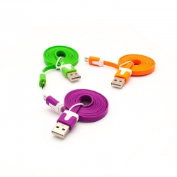 Micro USB cable 1 m for Samsung, HTC