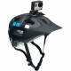Крепление GoPro Vented Helmet Strap Mount (на вентилируемый шлем) (вид слева)