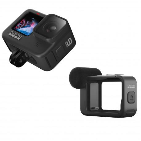 Экшн-камера GoPro HERO9 Black Media Mod Bundle, главный вид