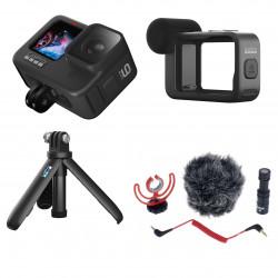 Экшн-камера GoPro HERO9 Black с набором для блогера