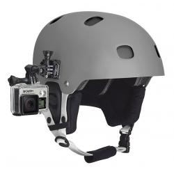 Крепление GoPro Side Mount (на шлем сбоку) (прикреплено к шлему)