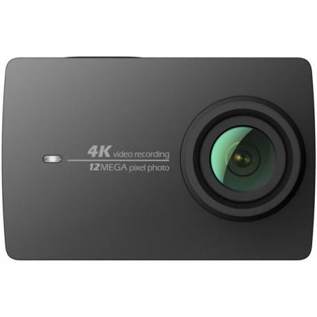 Экшн-камера Xiaomi Yi 4K - Night Black (вид спереди)
