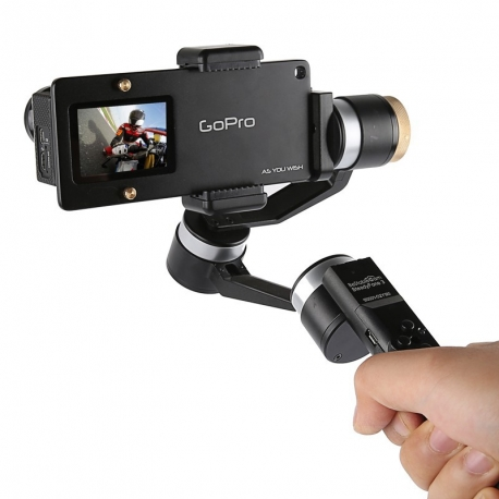 Smartphone gimbal to GoPro adapter