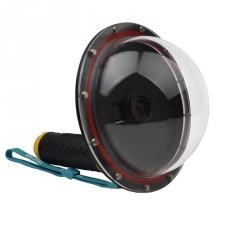 Подводный купол для GoPro - Telesin Dome 2 (вид сбоку)
