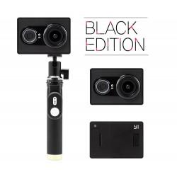 Экшн-камера Yi Sport Black Travel International Edition + Remote control button (монопод)