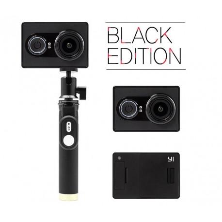 Action camera Yi Sport Black Travel International Edition + Remote control button