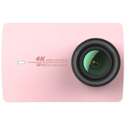 Экшн-камера Xiaomi Yi 4K - Rose Gold (розовый)