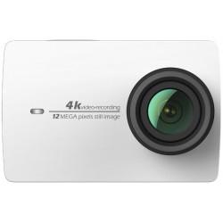 Экшн-камера Xiaomi Yi 4K - Pearl White (вид спереди)