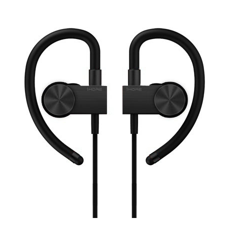 Bluetooth Навушники 1More Active Black (чорний)