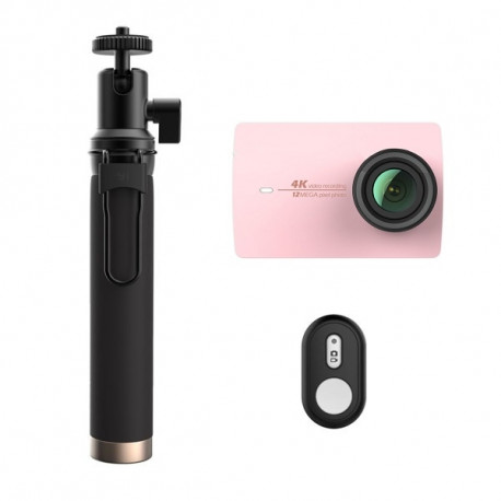 Xiaomi Yi 4K camera Rose Travel International Edition + Remote control
