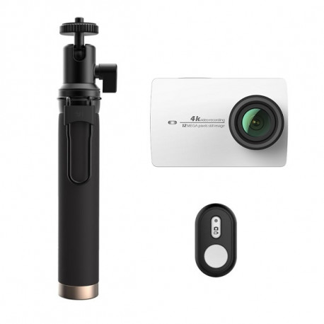 Xiaomi Yi 4K camera White Travel International Edition + Remote control