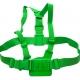 Цветное крепление для GoPro на грудь (зеленый)