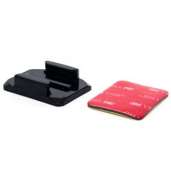 Изогнутая площадка для GoPro (3М скотч)