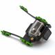 Кріплення GoPro на стропи кайта CAMRIG (зелений)
