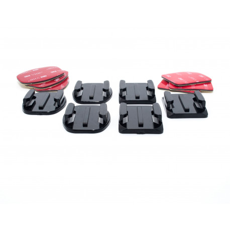 Adhesive mounts set for GoPro