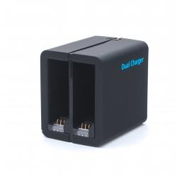 Telesin Dual Charger - USB зарядка на 2 батареи для GoPro HERO4 (крупный план)