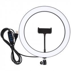 Кольцевая USB LED лампа Puluz 30 см