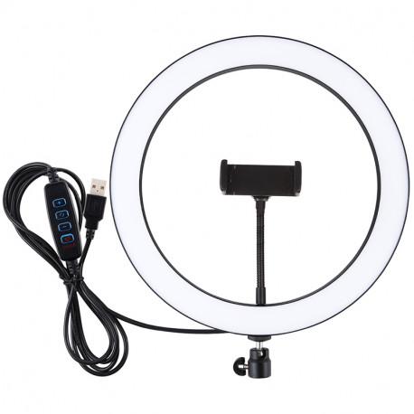 Кольцевая USB LED лампа Puluz 11,8'' (30 см), главный вид