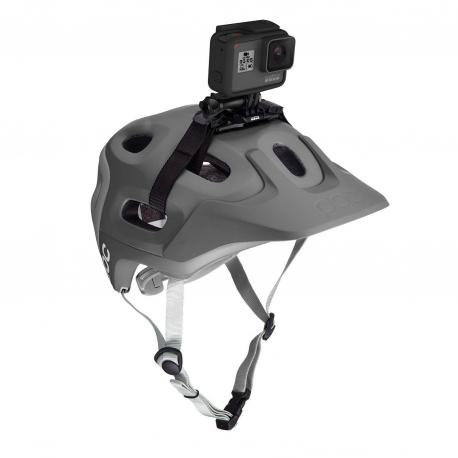 Кріплення GoPro Vented Helmet Strap Mount (на вентилюємий шолом) (в надітому вигляді)