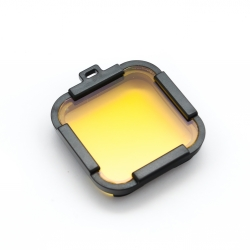 Yellow dive filter for GoPro HERO Session without housing