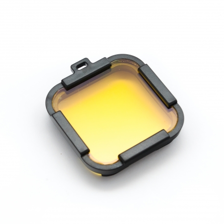 Жовтий підводний фільтр для GoPro HERO Session (загальний вигляд)