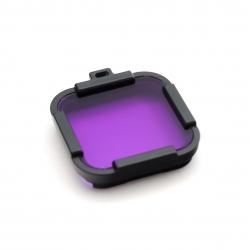 Фиолетовый подводный фильтр для GoPro HERO Session (фиолетовый)