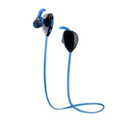 Спортивные Bluetooth наушники KONCEN X13 (синий крупный план)