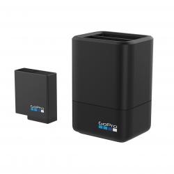 Зарядний пристій GoPro Dual Battery Charger з батареєю для HERO5 Black (загальний вигляд)