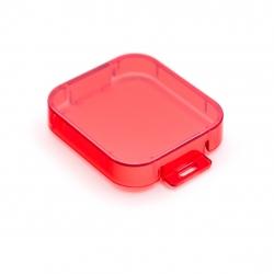 Красный фильтр для GoPro HERO5 Black (вид сверху)