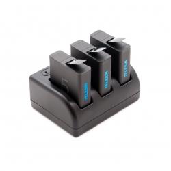 Зарядное устройство Telesin для GoPro HERO5 (комплект)
