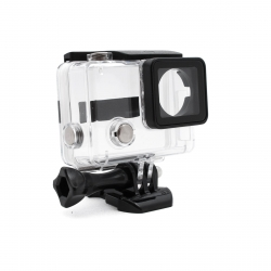 Skeleton housing with open ports for GoPro