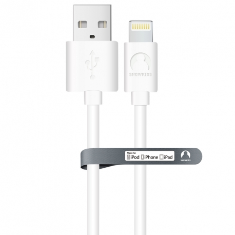 MFi data-cable for iPhone/iPad Snowkids 2.0m