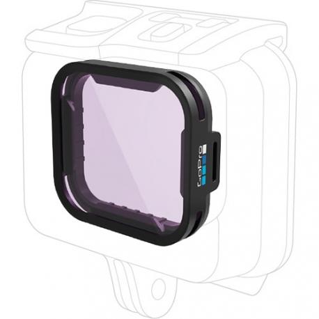 Фільтр GoPro Magenta Dive Filter для HERO5 Black Super Suit (застосування)