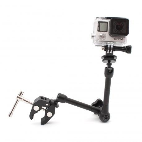 Mount for GoPro on music instruments