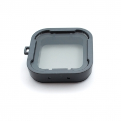 Transparent filter for GoPro HERO4 Standard housing