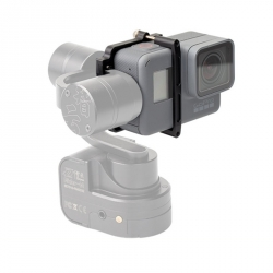 GoPro HERO6 and HERO5 Black adapter for Zhiyun Z1-Evolution and Rider-M