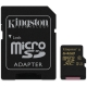 Карта пам'яті Kingston microSDXC 64 Gb UHS-I + adapter U1 (R90, W45MB/s)