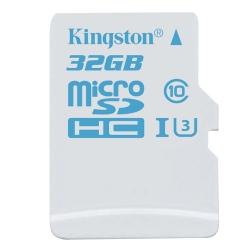 Карта пам'яті Kingston microSDHC 32 Gb Action UHS-I U3 (R90, W45)