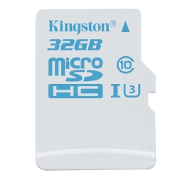 Карта памяти Kingston microSDHC 32 Gb Action UHS-I U3 (R90, W45)