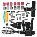 Large action camera mounts kit